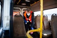 Как в Туле дезинфицируют маршрутки и автобусы, Фото: 24