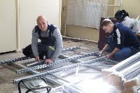 В Туле в манеже «Арсенала» завершается монтаж госпиталя для больных коронавирусом, Фото: 26