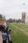Установка шпиля на колокольню Тульского кремля, Фото: 1
