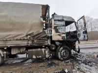 В Петелино сгорел грузовик, Фото: 6
