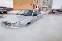 Машина вмерзла в лед, Фото: 7