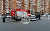 В Туле пожарная машина столкнулась с BMW, Фото: 4