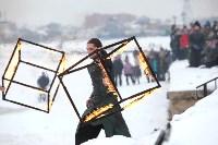 Как туляки провожали зиму на набережной Упы, Фото: 118