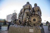 В Туле открыли памятник экипажу танка Т-34, Фото: 49
