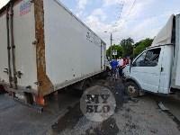 Двойная авария в Пролетарском районе Тулы, Фото: 3
