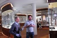 Канал «Russia Today» провёл съемки в Тульском музее оружия, Фото: 2
