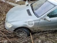 В Туле Mercedes повалил фонарный столб, Фото: 7