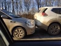 На автодороге «Тула — Новомосковск» столкнулись пять машин, Фото: 4