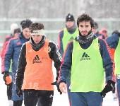 «Арсенал» готовится на снежном поле к игре против «Тосно», Фото: 33