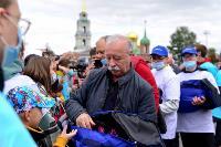 Толпа туляков взяла в кольцо прилетевшего на вертолете Леонида Якубовича, чтобы получить мороженное, Фото: 53