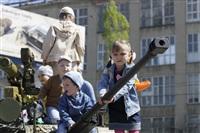 Празднование 69-й годовщины победы в Великой Отечественной войне на площади Победы. Тула, Фото: 99