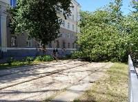 Упавшее дерево перекрыло ул. Болдина, Фото: 1