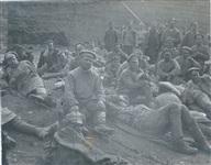 Русские солдаты на строительстве железной дороги., Фото: 19