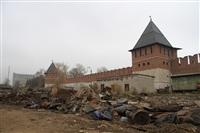 16 октября Владимир Груздев проконтролировал ход работ по благоустройству набережной, Фото: 8