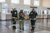 Спасатели провели учения на Московском вокзале, Фото: 3