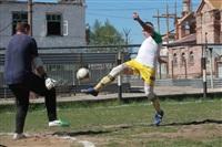Тульские журналисты сыграли в футбол с зэками, Фото: 16