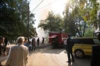 На стройке на улице Фрунзе сгорели вагончики рабочих., Фото: 7