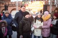 В Тульском кремле открылась новогодняя елка, Фото: 32