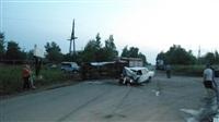 Под Тулой «Мерседес» не уступил дорогу пьяному на «семерке», Фото: 2