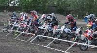 Юные мотоциклисты соревновались в мотокроссе в Новомосковске, Фото: 119
