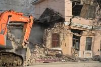 Снос аварийного дома на улице Октябрьской, Фото: 10