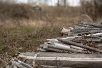 В лесу в Узловском районе обнаружена свалка ртутных ламп, Фото: 6