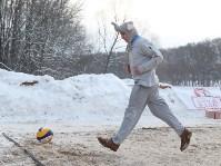 III ежегодный турнир по пляжному волейболу на снегу., Фото: 93