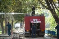 На стройке на улице Фрунзе сгорели вагончики рабочих., Фото: 3