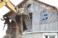 В Плеханово продолжается снос незаконных цыганских построек, Фото: 57