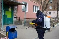 Дезинфекция в Пролетарском округе Тулы, Фото: 33
