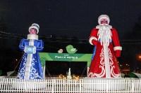 Тульские парки украсили к Новому году, Фото: 12