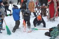 Как туляки провожали зиму на набережной Упы, Фото: 10