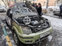 В Туле на улице Ф. Энгельса сгорел припаркованный Ford, Фото: 6