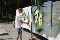 Молодые туляки попытали свои силы на конкурсе граффити, Фото: 19