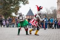 Средневековые маневры в Тульском кремле. 24 октября 2015, Фото: 106