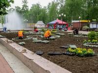 В Кировском сквере Тулы высадят 20 тысяч цветов, Фото: 1