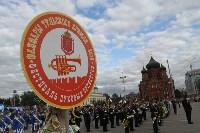 По праздничной Туле прошли духовые оркестры, Фото: 24