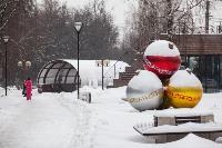 Последствия снежного циклона в Туле, Фото: 35