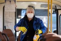 Как в Туле дезинфицируют маршрутки и автобусы, Фото: 19