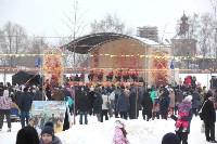 Как туляки провожали зиму на набережной Упы, Фото: 40