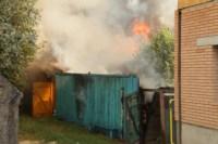 На улице Патронной загорелся частный дом, Фото: 7