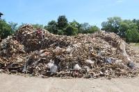 В Тульской области незаконно сжигали московский мусор, Фото: 11