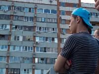 Загорелся недостроенный ТЦ на Красноармейском проспекте, Фото: 53