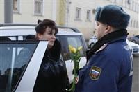 Полицейские поздравили автоледи с 8 Марта, Фото: 21