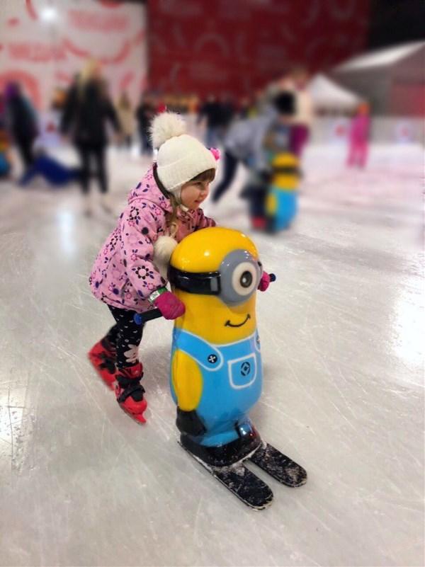 дебют на коньках