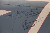 Установка копии Ла-5ФН на несущую опору мемориала «Защитникам неба Отечества» , Фото: 5
