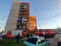 Пожар в общежитии на ул. Фучика, Фото: 18