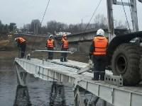 Монтаж моста в Архангельской области, Фото: 26
