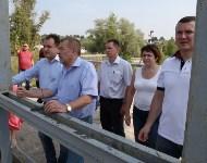 Юрий Андрианов посетил усадьбу Мосоловых в Дубне. 8 августа 2015, Фото: 17