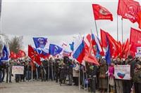 В Туле проходит митинг в поддержку Крыма, Фото: 11